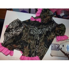 3pc Bloomer Set Camo Hunter Girls Baby Toddler Girls Size 4t /5t Ready to ship image