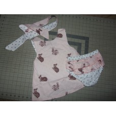 3 pc Bloomer Set  Reversible NEW Ester Bunny   Baby   Girls    Size 3t/4t   Ready to ship