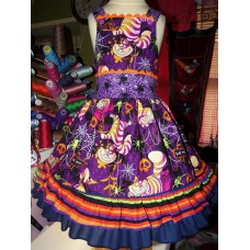 Cheshire Cat Dress, Alice In Wonderland Dress, Disney Inspired Dress, Princess Dress Up, Girls Costume,Dress  Size  4t  Ready to ship