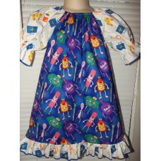 Doctor my little Doctor dress Hospital Gown robe Dress up  vintage new fabric   Dress Size 2t,3t ,4t or 5t  Ready to ship
