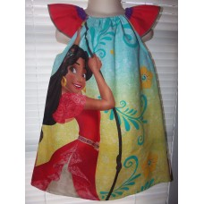 Elena Dress / Disney Inspired Princess Elena of Avalor Inspired Costume Size  Dress Size 2t,3t or 4t Ready to ship