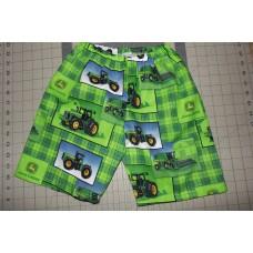 Farm Boy Green Short Size  12mo, 18mo, 2, 3 and 4T  Toddler    Ready to ship