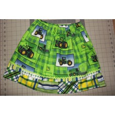Farm Girl Green  Birthday,  Size 18mo to 7   ready to ship.