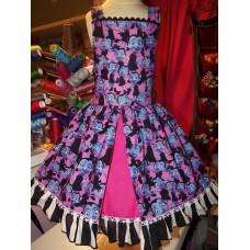Girls Custom Vampirina Vampire Ghoul Birthday Party Pageant Dress  Size 5t  26in length Ready to Ship