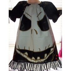 """Jack Skellington from """"Nightmare before Christmas"""" Glow in the Dark  Dress Size  5t  Ready to ship"""