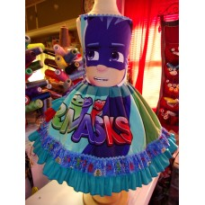 PJ Masks Girls Disney  School  Birthday, Tea Party Fairy tale Dress  Tutu skirt   Size 5t  Ready to ship