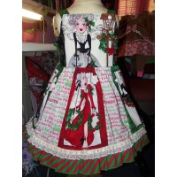Patchwork Christmas  Dress Size 3t