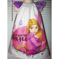 Rapunzel and Prince   birthday dress,  gift, Disney toddler girls dress Size 3t Ready to ship