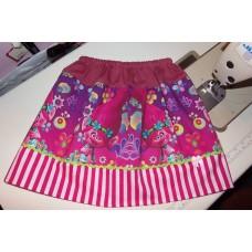 Trolls Poppy Flower  Skirt Size 4t ONLY   ready to ship.