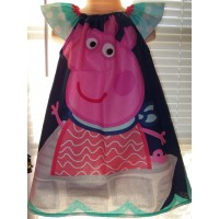 Peppa   Pig   Polka Dots  Dress Size  4t  ONLY  Ready to ship