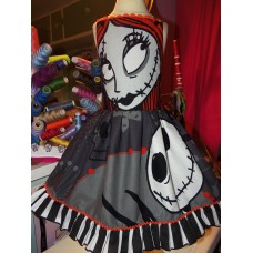 Sally The Nightmare Before Christmas Baby Doll  Dress  Size 5t/6  Ready to ship